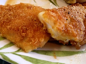 Crispy Fried, Low Carb Fish