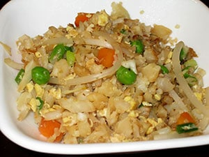 """Cauliflower Chinese """"Fried Rice"""" by  Kelley"""