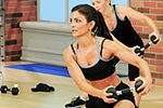 Cathe Friedrich's circuit workout and exercise DVDs