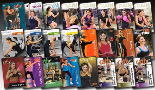 Cathe Friedrich's June 2014 Workout Rotation