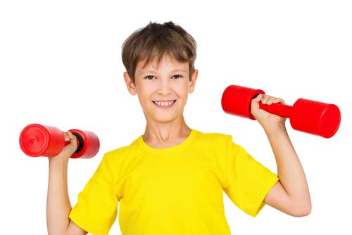 Is It safe for kids to do strength training