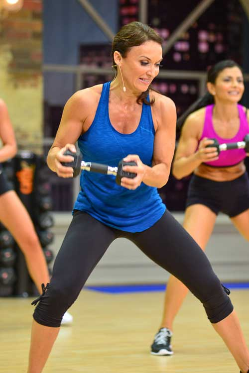 Cathe Friedrich's Ripped With HiiT