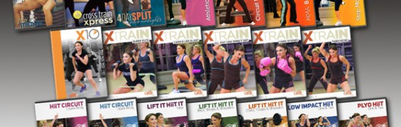 Cathe's December 2014 Workout Rotation