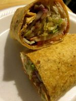 Veggie and Turkey Wrap