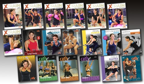 Cathe's March 2015 Workout Rotation