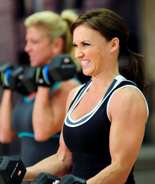With antagonist supersets you're working two opposing muscle groups back-to-back.