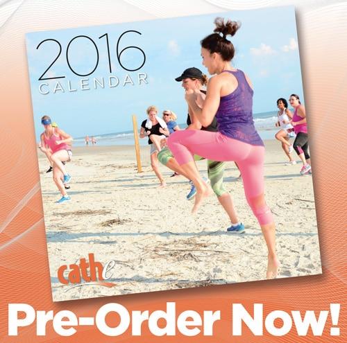 2016 Cathe Calendar