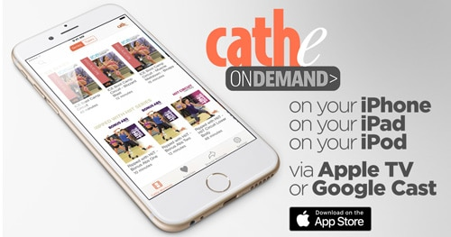 Download Cathe's OnDemand iOS App