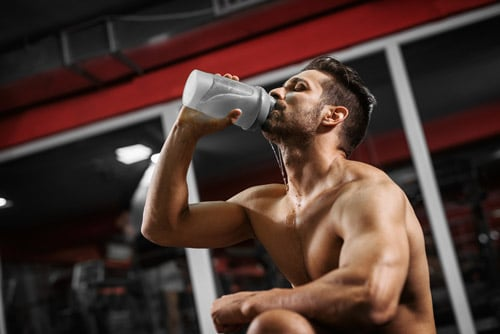 How hydrated you are also matters when you strength train. In fact, it can impact your performance and, potentially, muscle gains.