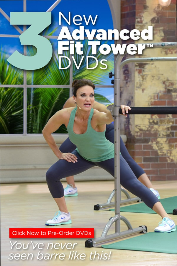 Pre-Order Cathe's New Advanced Fit Tower™ DVDs