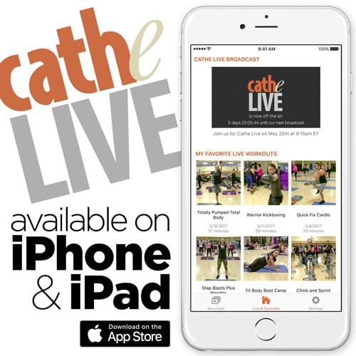 Download the New iOS Cathe Live App!