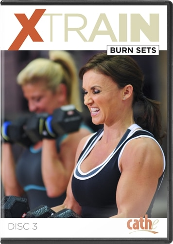 image of Cathe's XTrain Burn Sets workout DVD