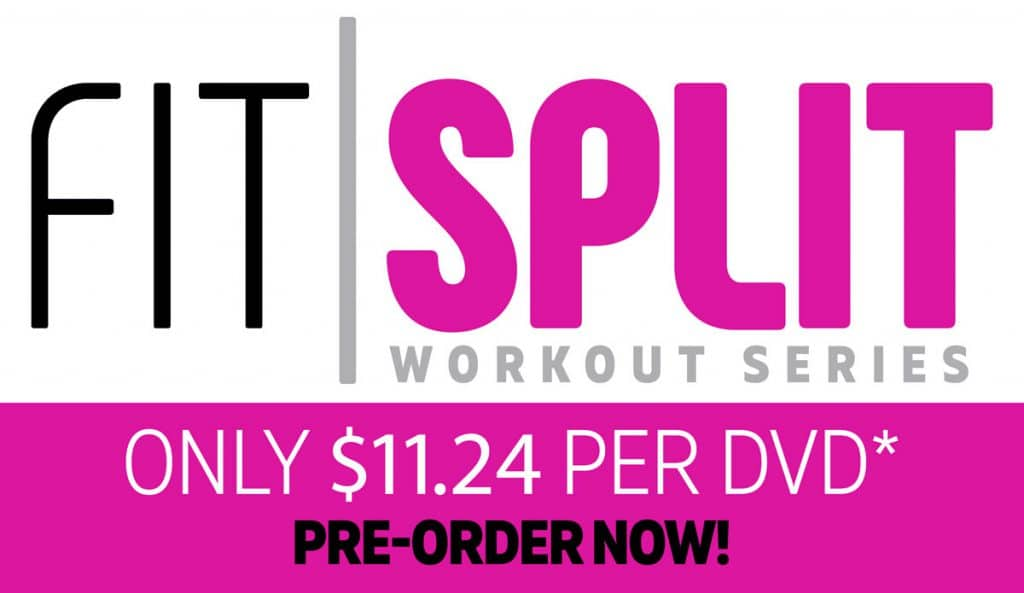 Pre-Order Cathe's Fit Split New Exercise and Workout Series