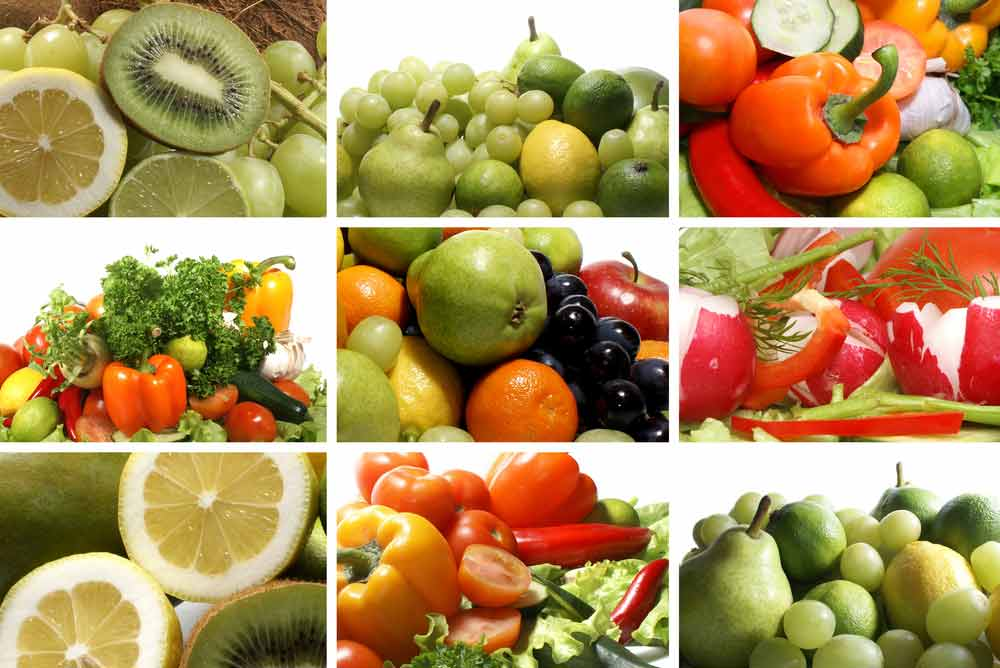 image of fruits and vegetables full of micronutients