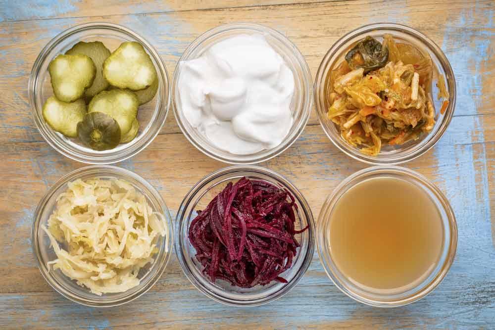image of probiotics foods