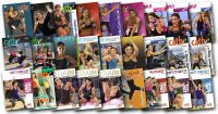 image of the DVD covers used in Cathe's February 2018 workout rotation