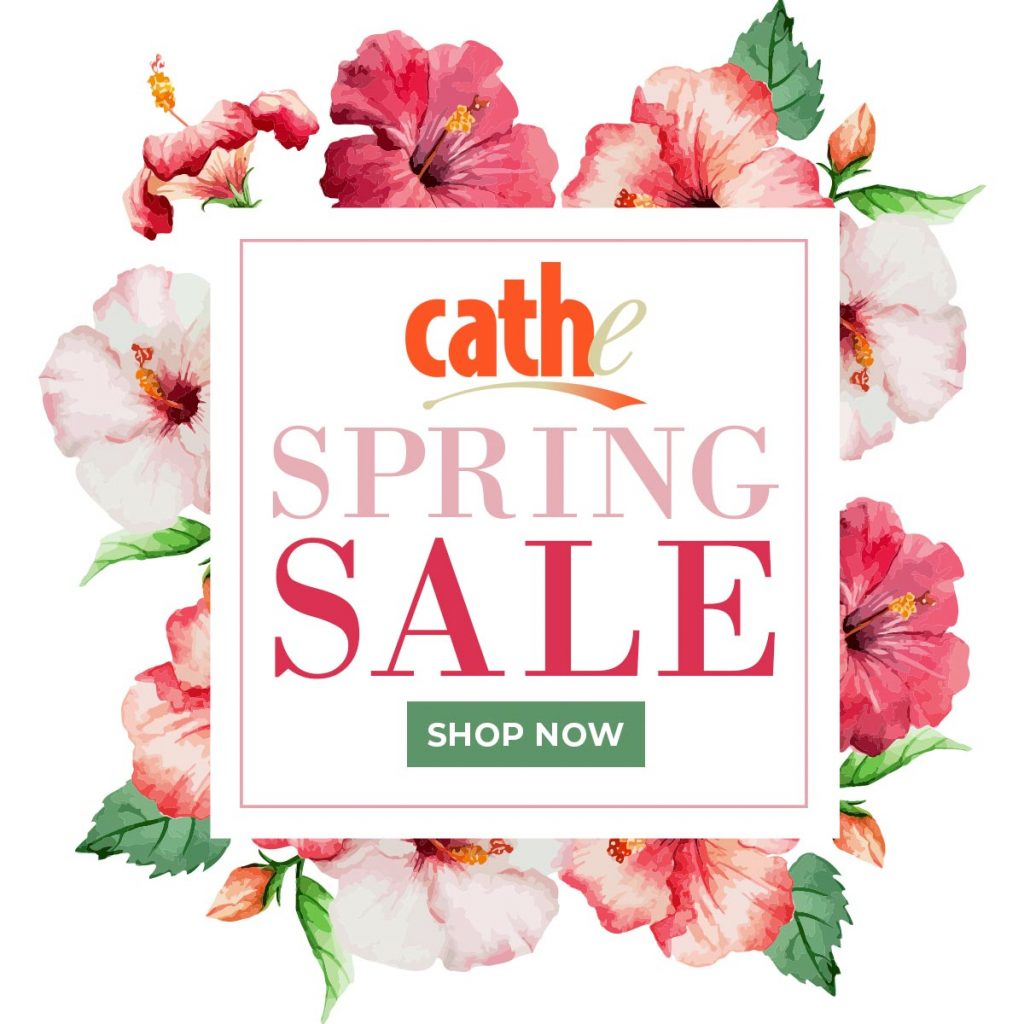 ad for Cathe Friedrich's Spring 2018 sale