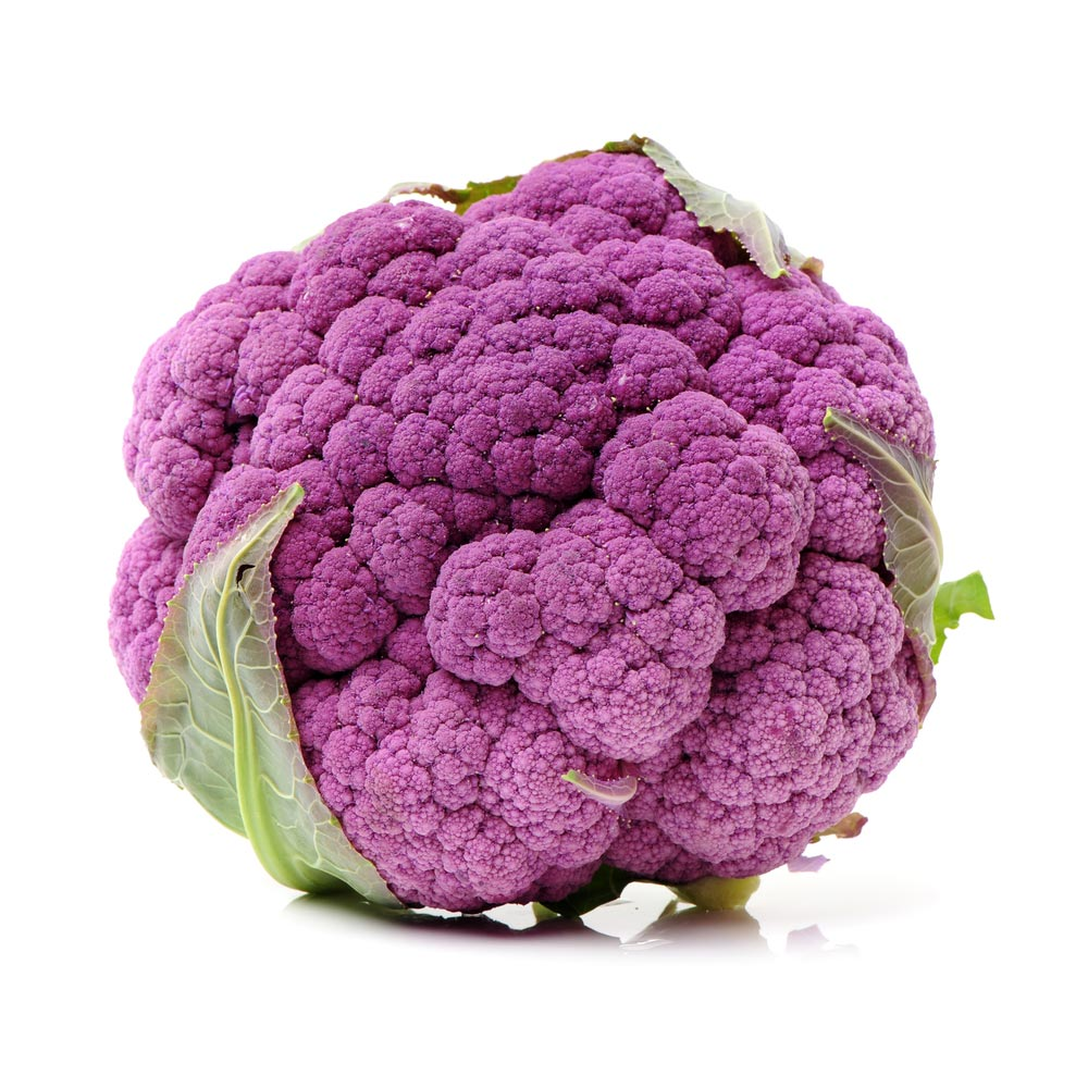 Purple Cauliflower and lesser known vegetables