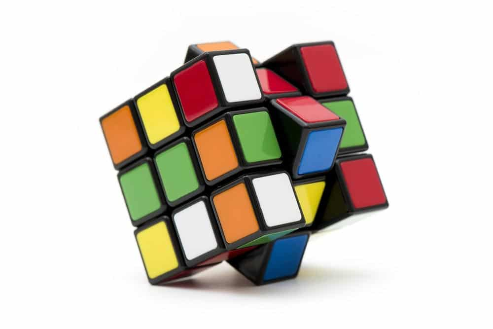 Can exercise improve your memory and help you solve Rubik's cube ?
