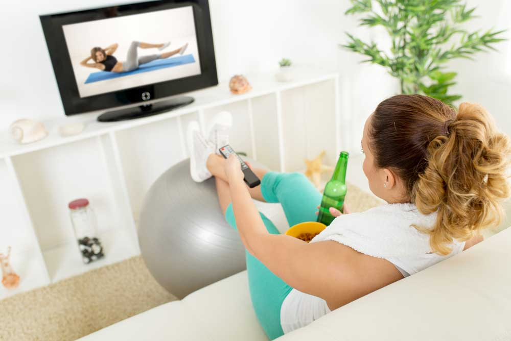 Both lack of exercise and obesity are major health concerns today, but which is worse?