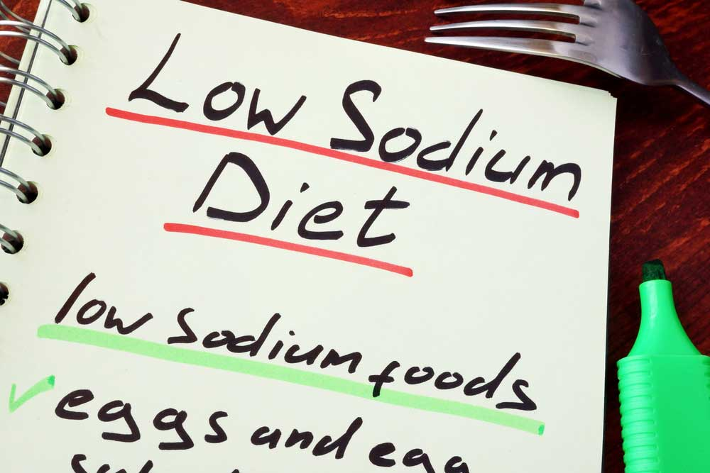 Is a low sodium diet a good idea and how many grams of sodium should you have?