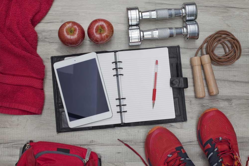 Do you keep a fitness training journal?