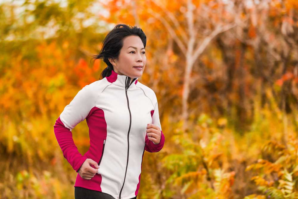 Does exercise prevent or cause early menopause?