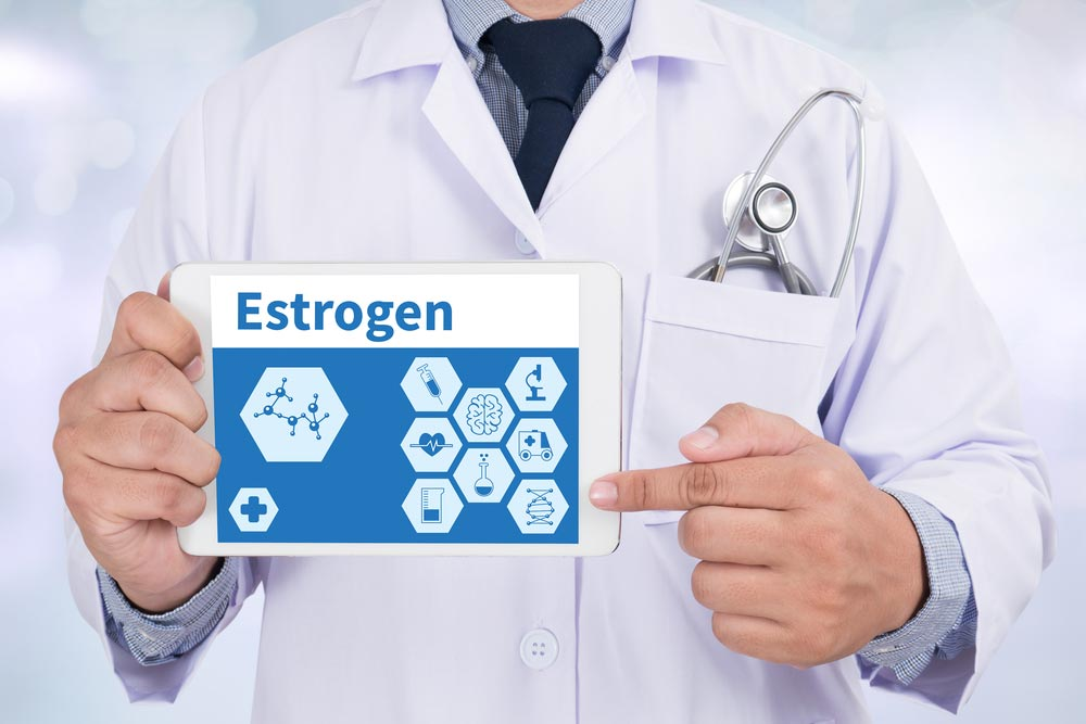 Does a decrease in estrogen cause weight gain?