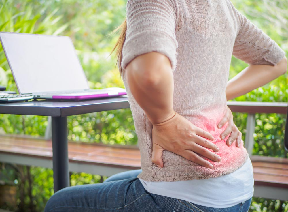 The most common causes for lower back pain.