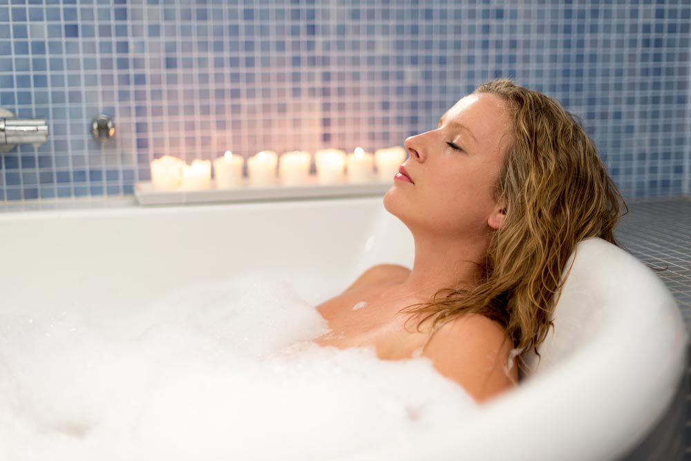 Does a hot bath have some of the same benefits as exercise?