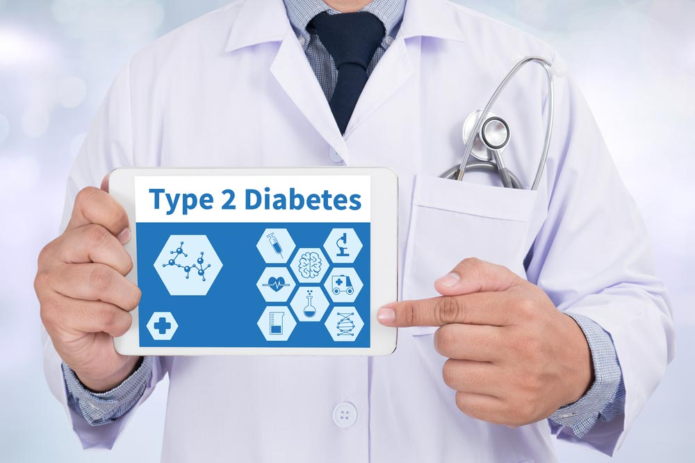 How can you lower your risk of type 2 diabetes?