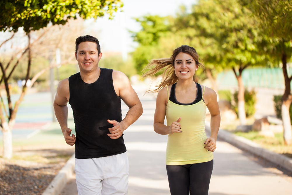 Is having a significant other beneficial for your fitness level.