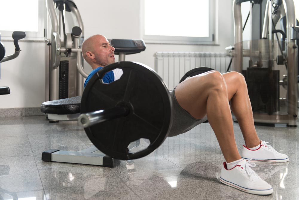 Hip thrusts are one of the best exercises for your glutes