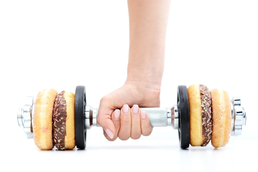 diet and exercise are both important for losing and maintaining weight loss