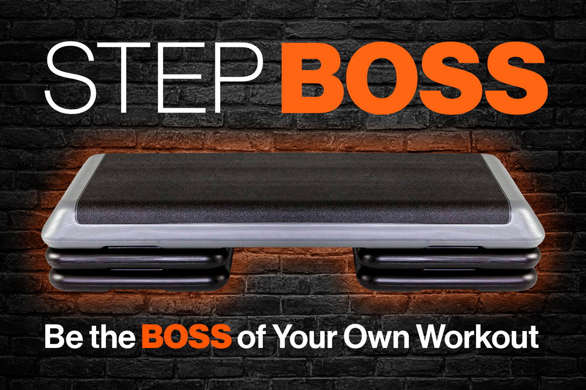 Step Boss step aerobic exercise videos and DVDs