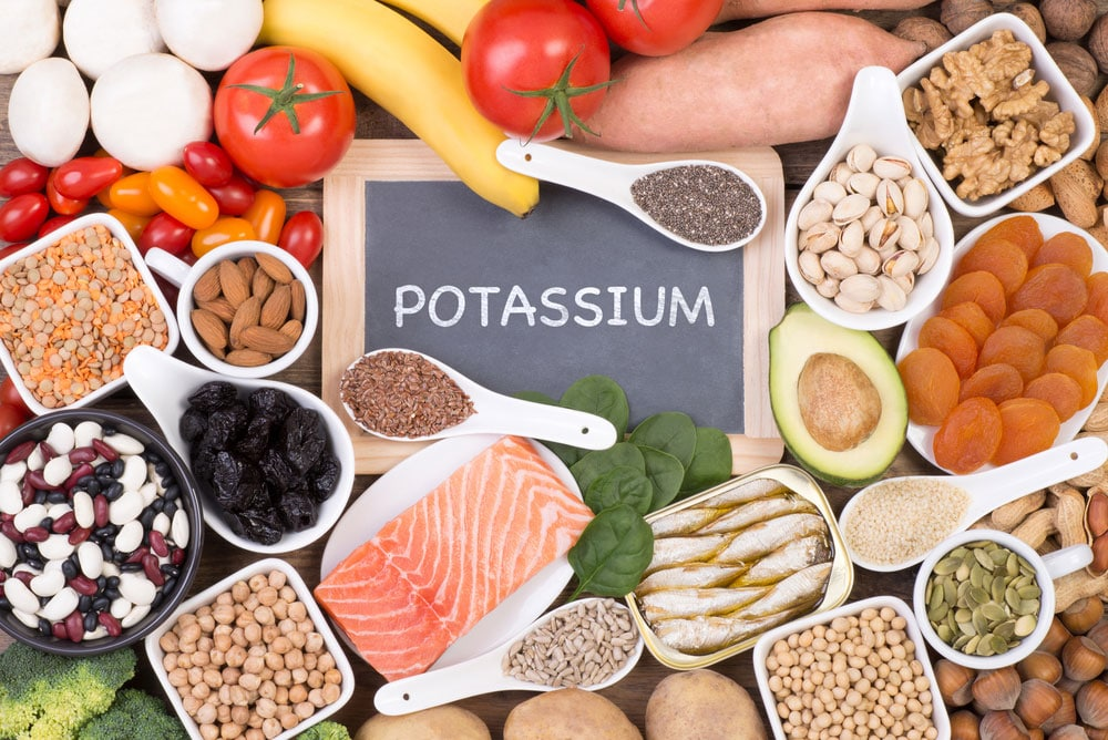 Potassium deficiency and exercise performance