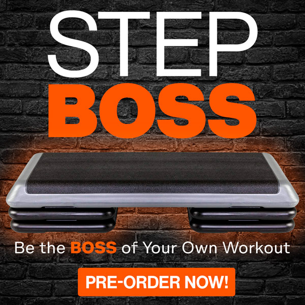 Step Boss step aerobic exercise step videos