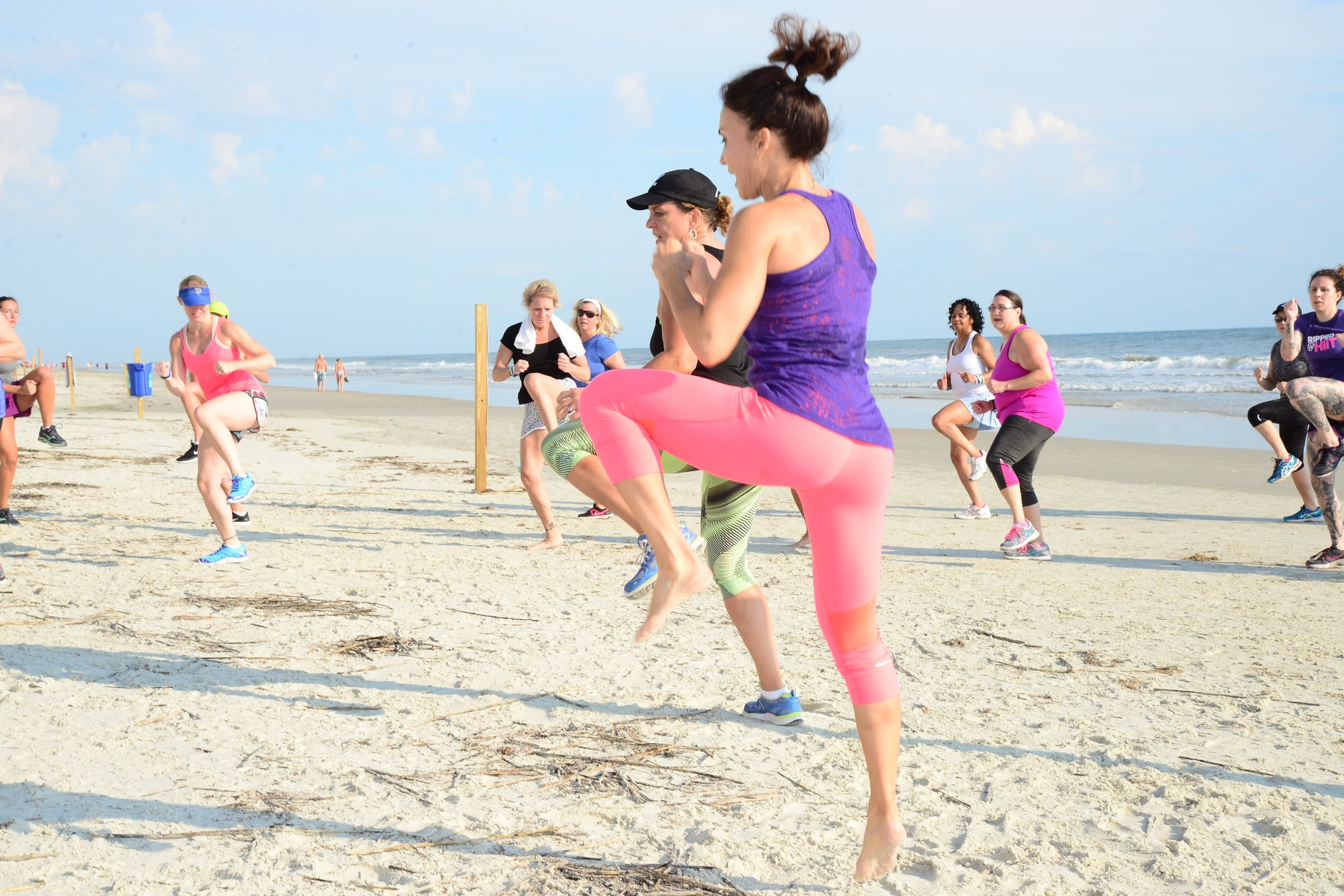 Cathe Daytona Road Trip Beach Boot Camp Workout