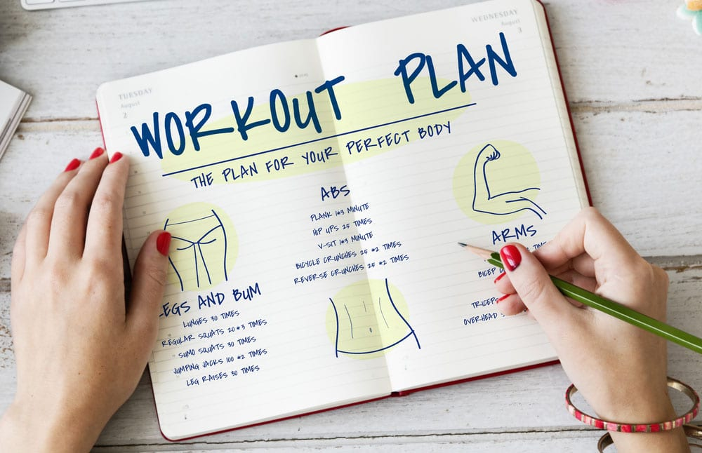 Fitness training journal