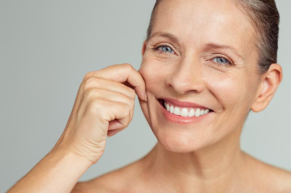 Slow aging skin