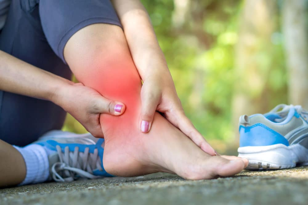 Treat a sprain at home