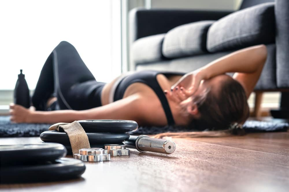 exercise induced headaches