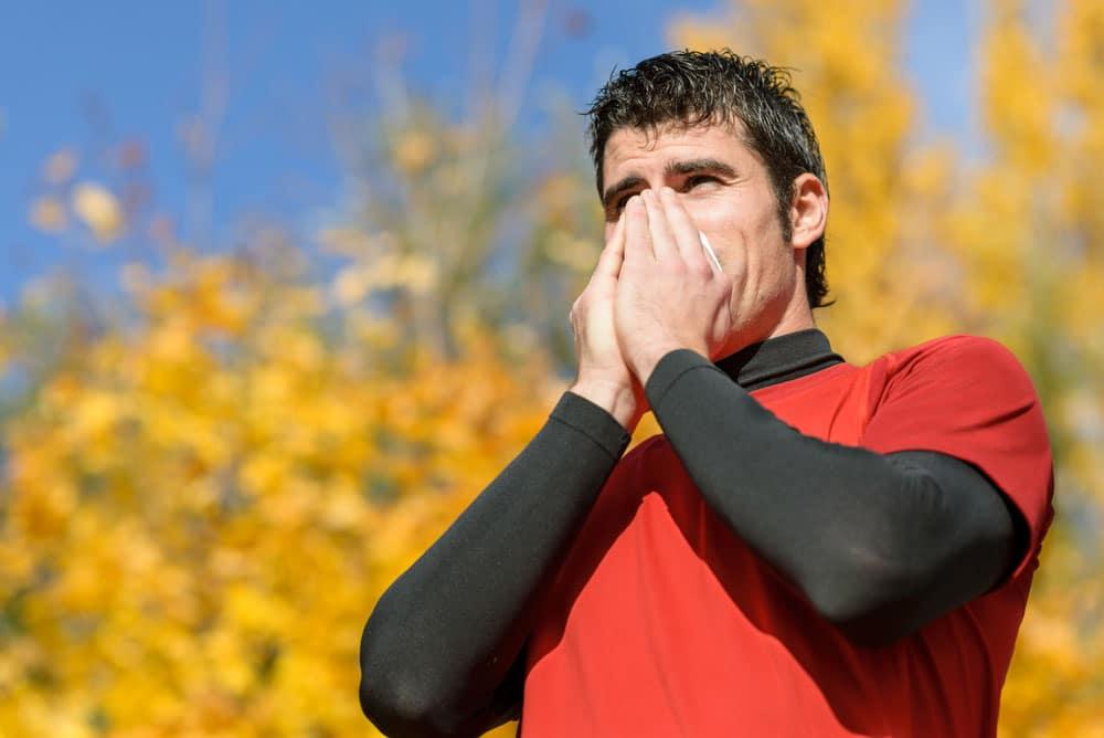 Do you get a runny nose when you exercise