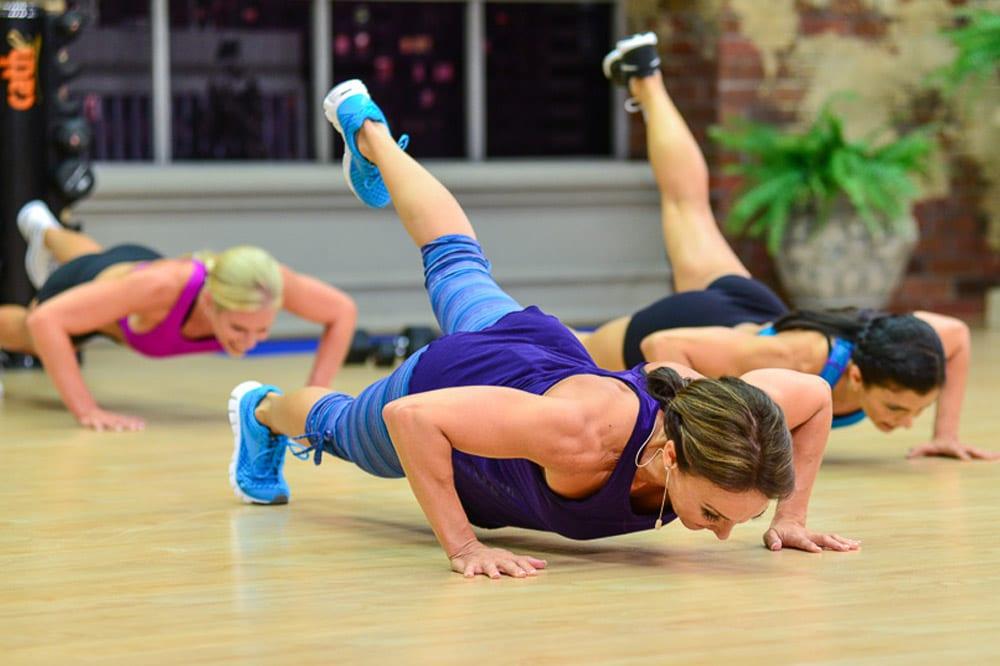 Push-ups and core training