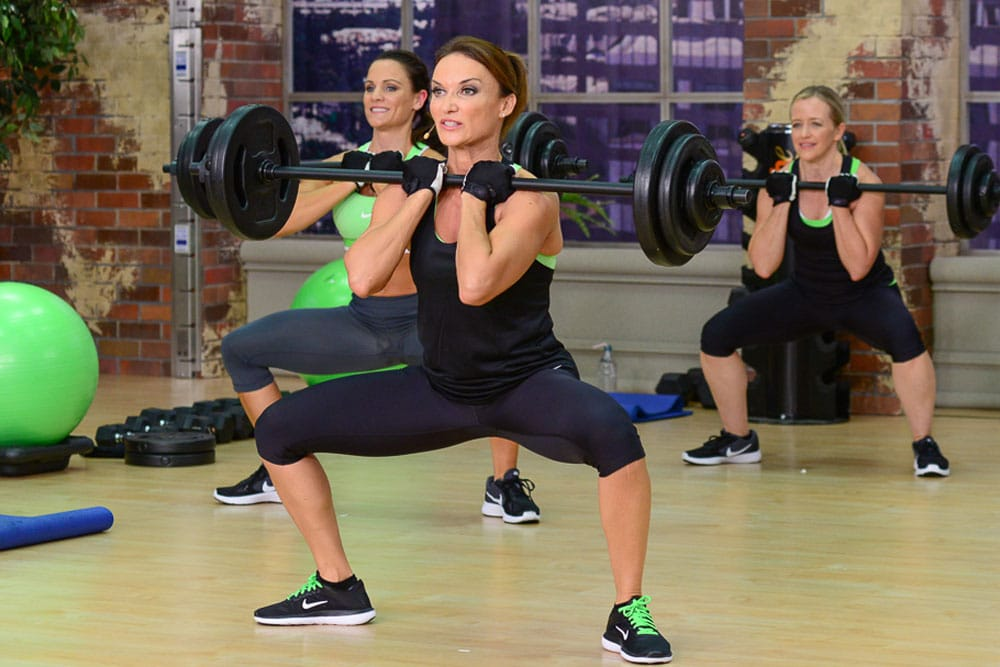 Front squats and Back Squats