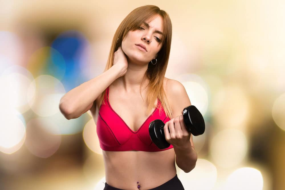 Exercising with neck pain