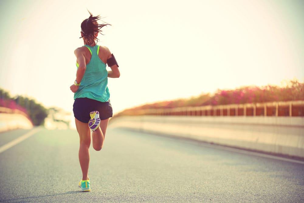 Running and core strength
