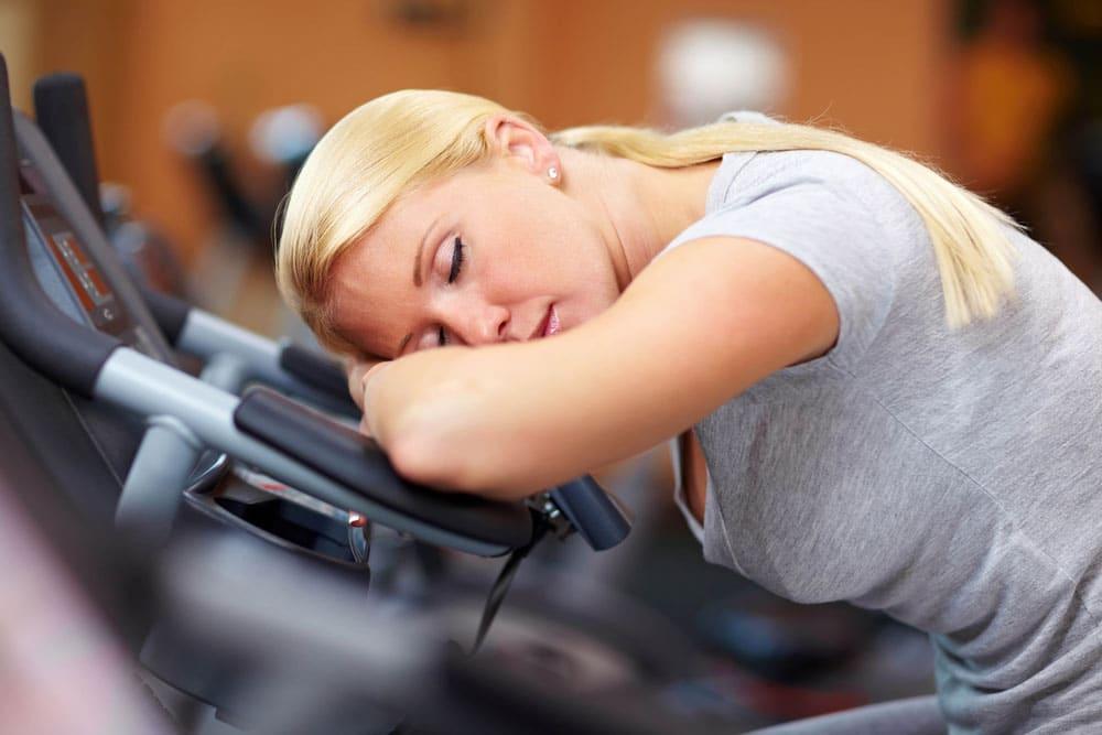 Exercise or sleep