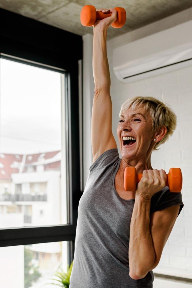 Strength training gains