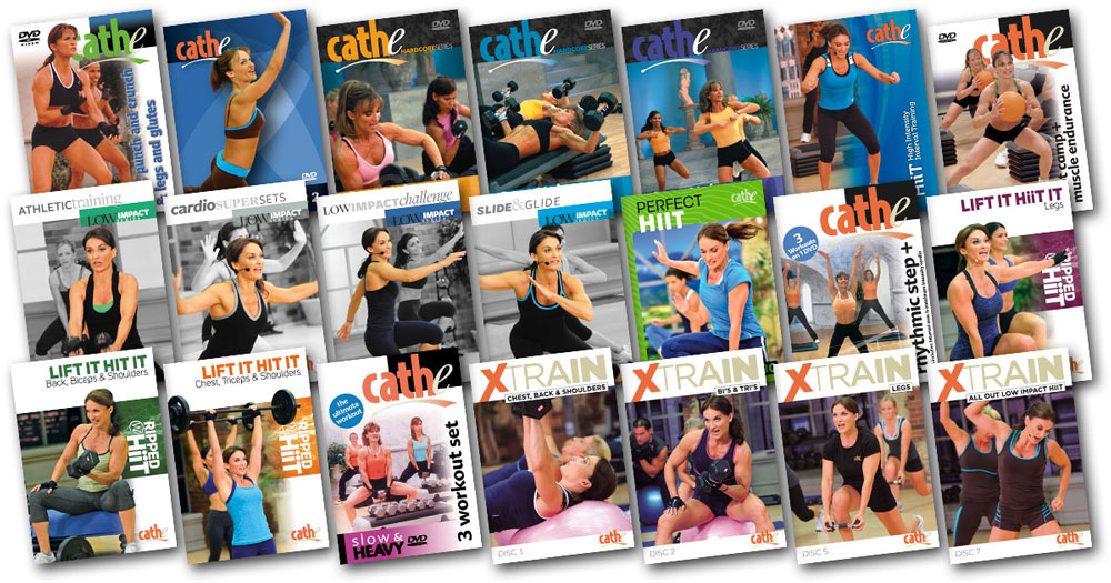 Cathe July 2021 Workout Rotation